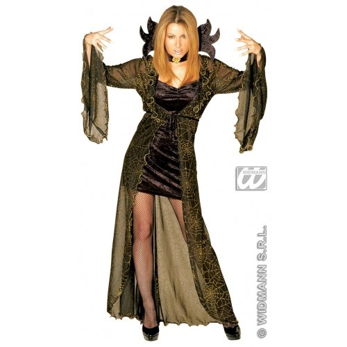 Ladies Spiderella Costume Small Uk 8-10 For Halloween Fancy Dress -