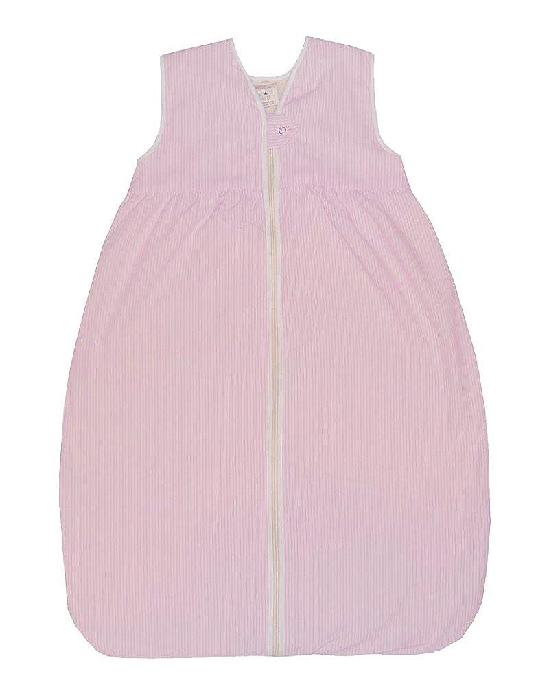 LANA Baby Ganzjahres Schlafsack Streifen mit Plüsch-Futter aus 100% Bio-Baumwolle