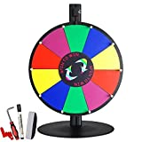 Generic NV_1008004016_YC-US2 <8&40161> adeshowze Wheel +S Wheel +Stand 15'' Tabletop Color Fortune Spinning Dry Erase Prize Game Tradeshow 15'' Tableto