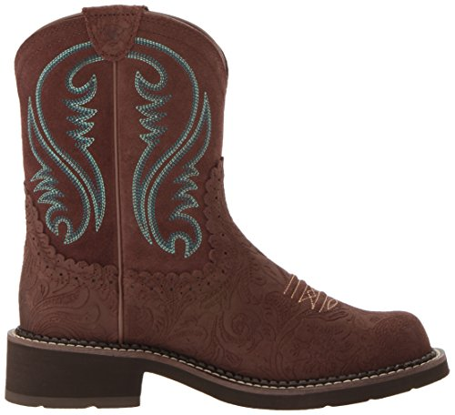 Fatbaby Stiefel Tooled Ariat Damen Brown Cowboy 5PtBZwq