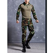 New Series Commando Camouflage Frog Suits Camouflage Coat + Pants Tactical Pants Jungle Camouflage Army Uniform