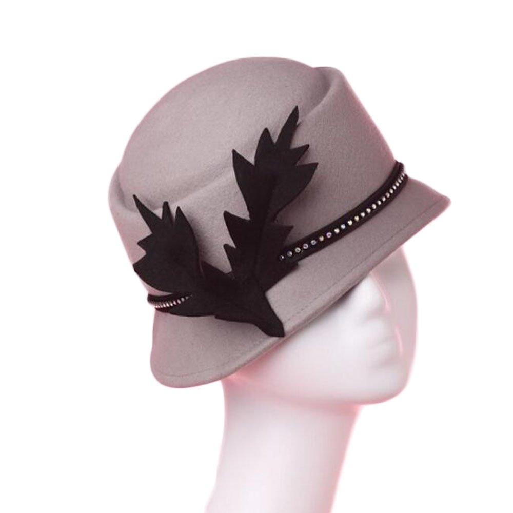 descuentos y mas Shuo lan El Sombrero de Lana Lana Lana y el Sombrero Biselado de otoño e Invierno.  envío gratis