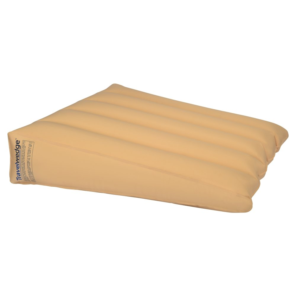 Inflatable Bed Wedge, Acid Reflux Wedge, Small-Size, 32'' L,30'' W,8'' H Weighs 2.2 pounds (Wedge ONLY, Does NOT Include Pump Or Cover)
