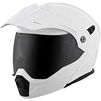 Scorpion EXO-AT950 Helmet - Solid (XXX-LARGE) (WHITE)