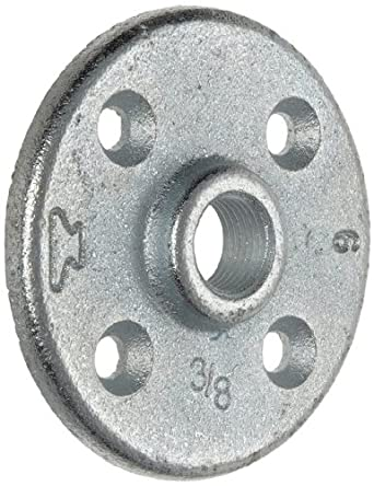 Anvil 8700164356 malleable iron pipe fitting floor for 1 inch galvanized floor flange