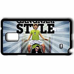 Personalized Samsung Note 4 Cell phone Case/Cover Skin 2013 gangnam style style Black