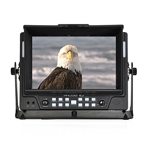 MustHD M701S 7-Inch 1280 x 800 IPS Panel 3G-SDI On-Camera Field Monitor with Color Peaking, Histogram (Black) by MustHD