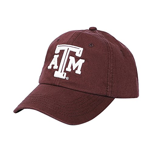 Aggies Atm - C.C. Creations Texas A&M Aggies ATM Maroon Cap, Adjustable, One Size