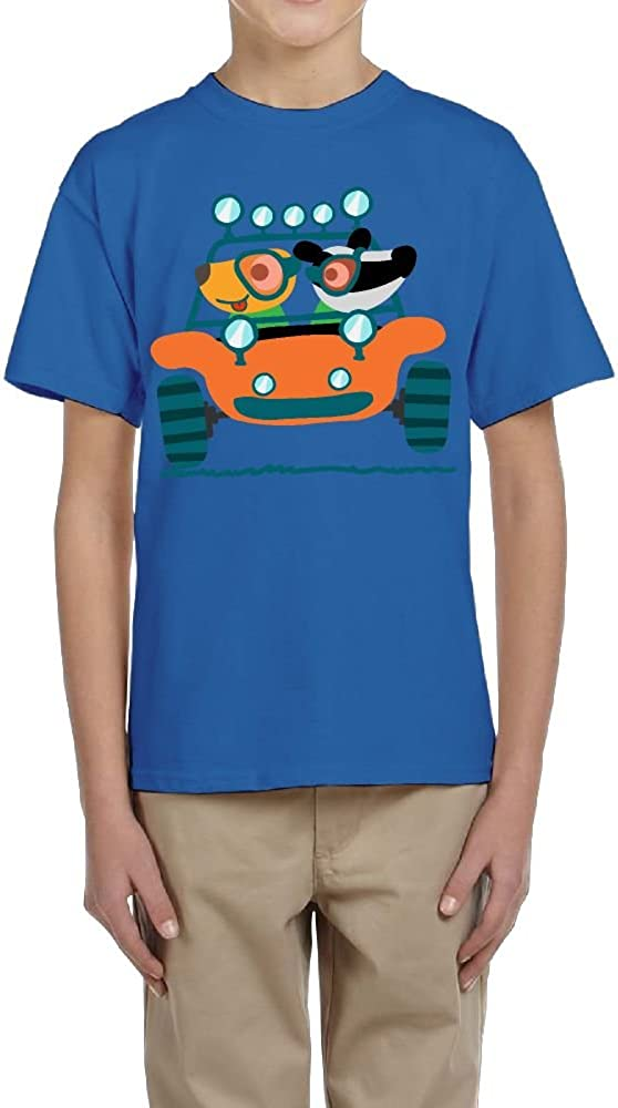 Boy Short-Sleeve T-Shirts Crew Jeep