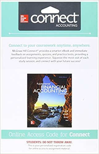 Connect 1 semester access card for fundamental financial accounting connect 1 semester access card for fundamental financial accounting concepts 9th edition fandeluxe Choice Image