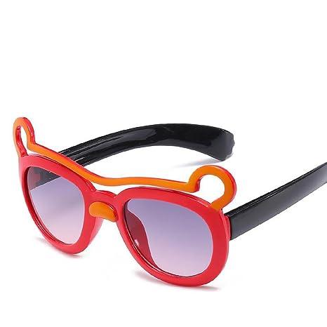 Aoligei Gafas de Sol para niños Brillantes Color Espejo ...