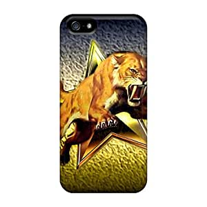 PC For HTC One M8 Phone Case Cover Strong Protect Case - Long Tusks Design