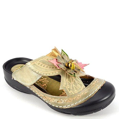 Multi Shoes Fern Womens Clogs Corkys Mules Sandal Grey Elite nq8BSYwB4