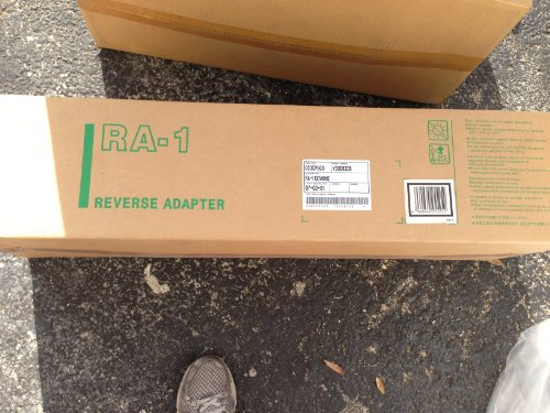 KYOCERA MITA # 023CP500 RA-1 REVERSING ADAPTER FOR DF-75 SADDLE STITCH FINISHER