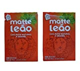Matte Leão Tea 8.8oz | Chá Mate Natural 250g (Pack of 02)