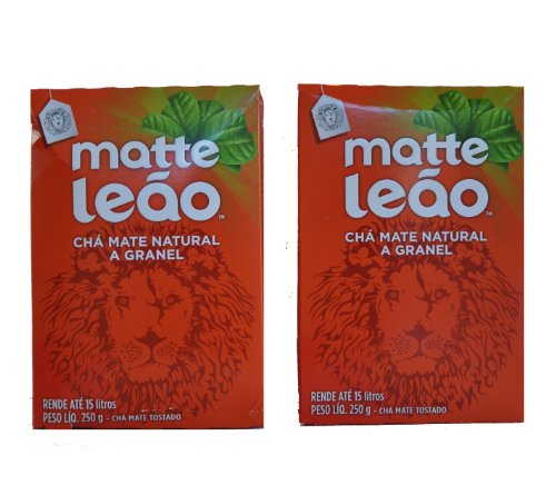 matte-leao-cha-mate-natural-a-granel-mate-tostado-250-g-pack-of-2-ground-tea
