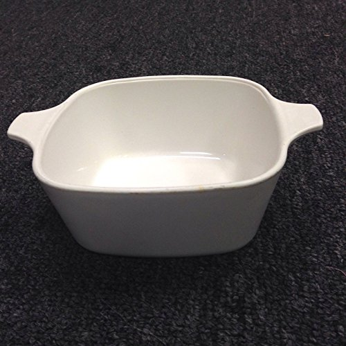 Vintage Corning Ware Winter Frost White 700 Ml Casserole P-43-B