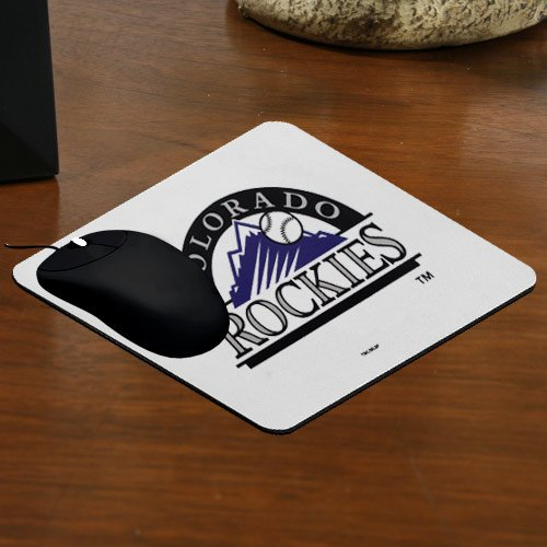 The Memory Company MLB Colorado Rockies Official Deluxe Neoprene Mouse Pad, Multicolor, One Size