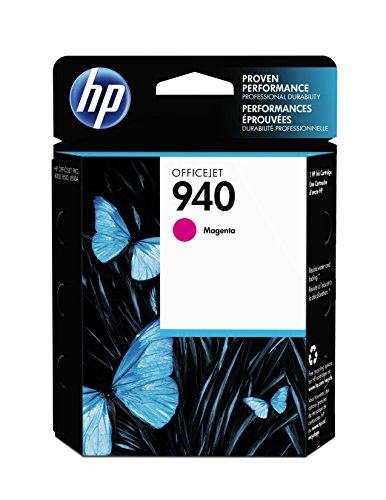 (HP 940 Magenta Original Ink Cartridge (C4904AN) for HP Officejet Pro 8000 8500)