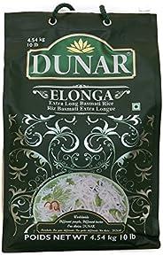 Dunar Elonga Basmati Rice, Premium, 10 Lb