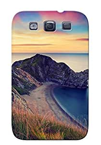 BLFqFpC1404anHBZ Trolleyscribe Awesome Case Cover Compatible With Galaxy S3 - Durdle Door