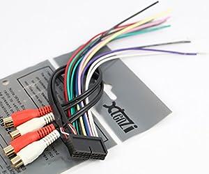 amazon com xtenzi radio wire harness for jensen 20pin cd6112 xtenzi radio wire harness for jensen 20pin cd6112 cd3610 mp5610 cd335x cd450k vm8012 vm8013