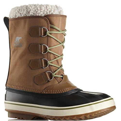 Mens Sorel 1964 Pac Nylon Waterproof Walking Snow Hiking Winter Boots - Nutmeg - 12 Sorel 1964 Pac Winter Boot