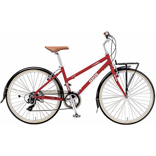 GIOS(ジオス) クロスバイク LIEBE RED 26インチ B076BZ93PQ