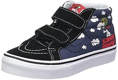 2494d23b04 Vans Kids Sk8-Mid Reissue (Suede) Skate Shoe