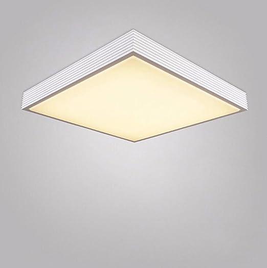 Sursy Simple y moderna lámpara de techo acrílico cuadrado de ...
