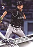 2017 Update Series #US60 Kyle Freeland Colorado Rockies Baseball Rookie Card