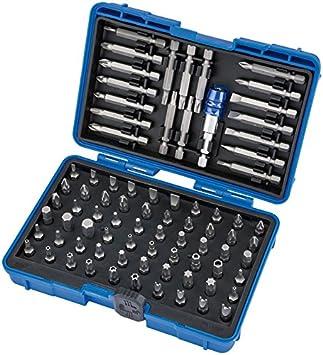 Draper 82398 Magnetic Bit Holder Set Silver 127 Piece