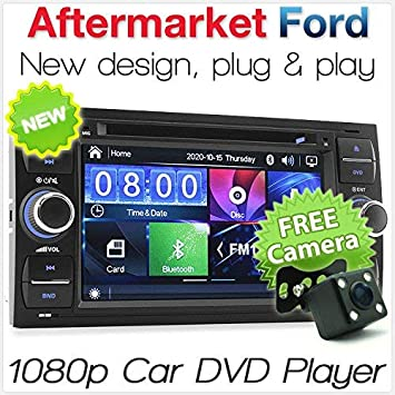 Tunez Car Dvd Player Stereo Usb Head Unit Radio For Ford Focus Transit Connect Mondeo Kuga