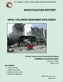 Investigation Report Vinyl Chloride Monomer Explosion 5
