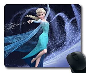 Elsa frozen rectangle mouse pad by icasepersonalized by runtopwell