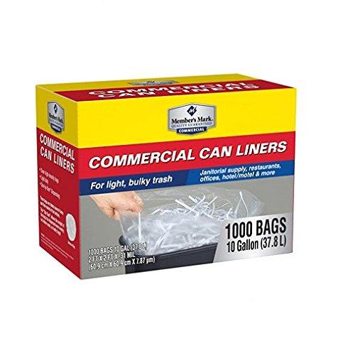 (Member's Mark 7-10 Gallon Commercial Trash Bags (1000 ct.) - Trash Bags)