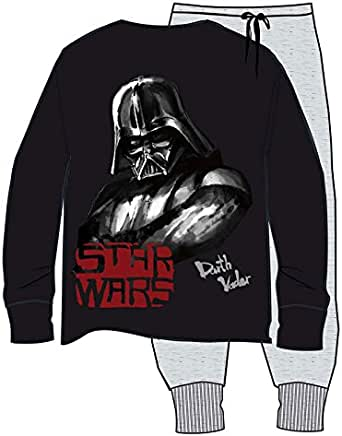 Pijama Star Wars Darth Vader - Adulto (L): Amazon.es: Ropa