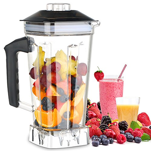 MengK Professional Industrial Kitchen Blender Jar 2L for HS200-D(Only for 1400W, not for 2000W) by MengK