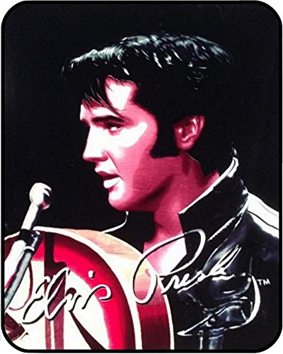 (Elvis Presley Luxury Plush Blanket Queen Size)