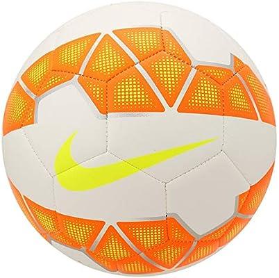 Nike Balón de fútbol Strike, White/Total Naranja/V en, 5, SC2601 ...