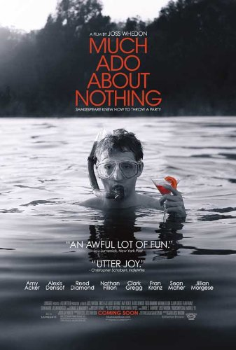 Much Ado About Nothing (2013) 11 x 17 Movie Poster - Style B - Ado About Nothing Poster