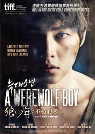 Boy book werewolf a