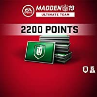 Madden NFL 19 MUT 2200 Points Pack (In Game) PS4 [Digital Code]