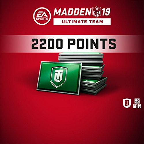 Madden NFL 19 MUT 2200 Points Pack (In Game) PS4 [Digital Code] by Electronic Arts
