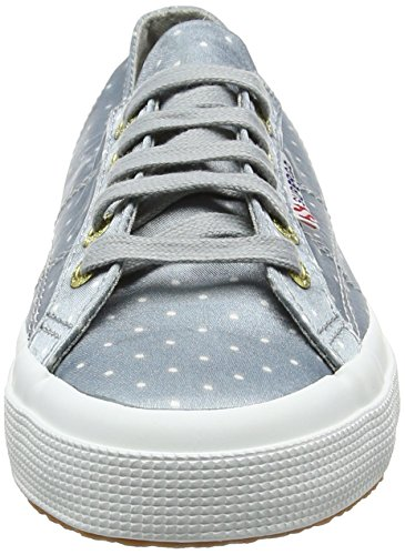 Superga2750 Dotsatinw - Zapatillas adultos unisex Blanco (grey Dots White)