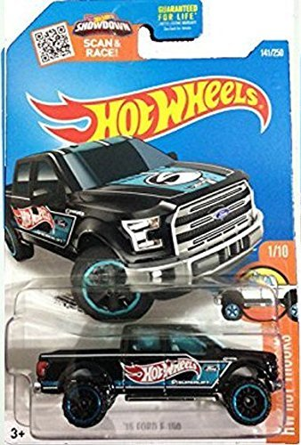 Amazon hot wheels 2016 hw hot trucks 15 ford f 150 141250 hot wheels 2016 hw hot trucks 15 ford f 150 141250 voltagebd Gallery