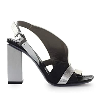 on sale b3a50 0821b Amazon.com   MALLONI Women's Shoes Ixos Tricolor Heeled ...