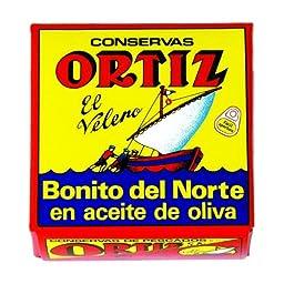 Ortiz White Tuna in Olive Oil 92grams 10 Pack