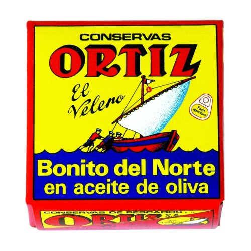 Ortiz White Tuna in Olive Oil 92grams 10 ()