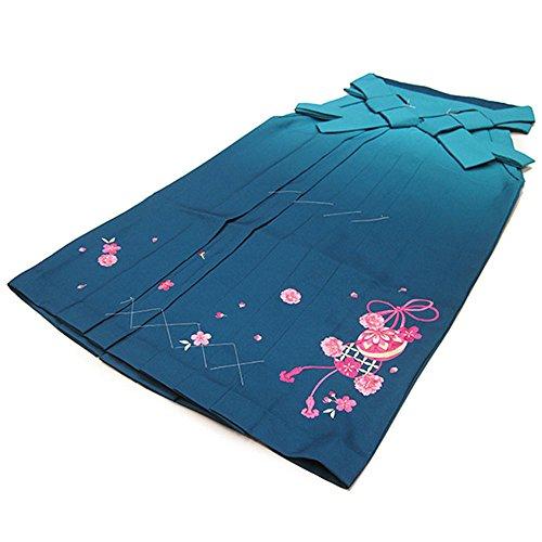 ページ免除する結果(オオキニ)大喜賑 卒業式 袴 刺繍入りぼかし袴 二尺袖に 刺繍袴